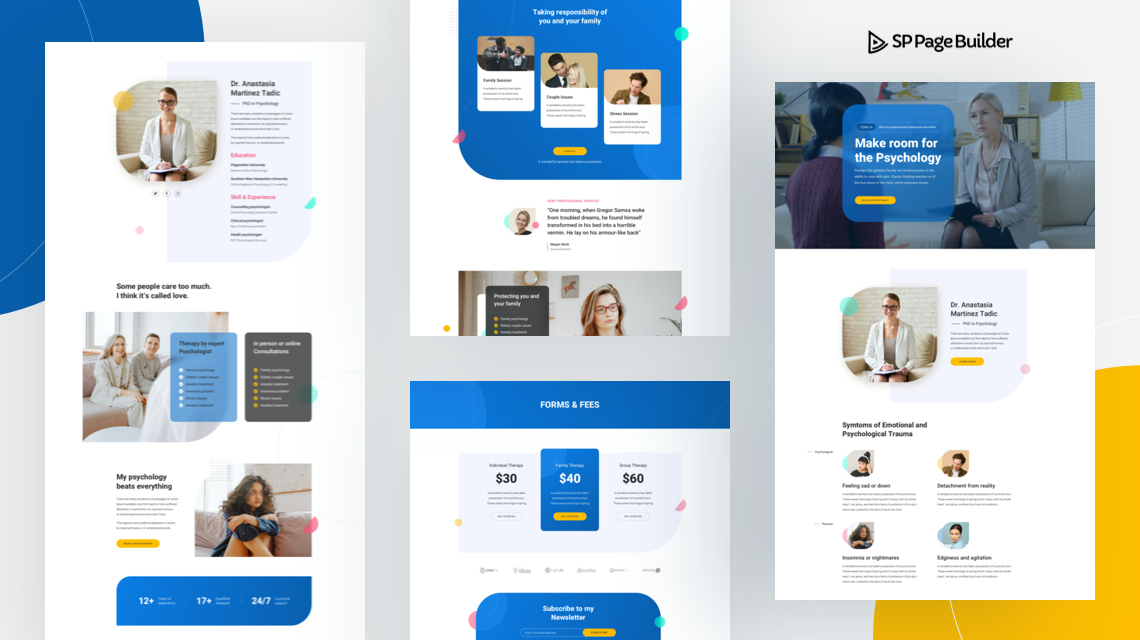 Introducing Psychiatrist: A Free Layout Bundle for SP Page Builder Pro