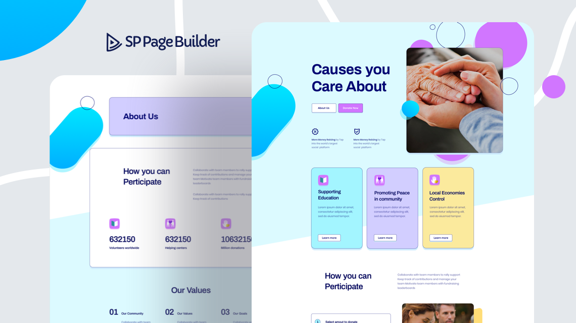Introducing Fundraising - A Free Layout Bundle for SP Page Builder Pro