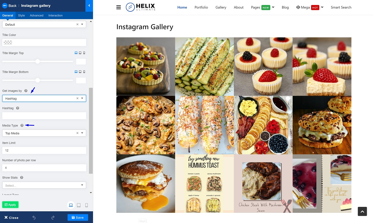 Instagram Feed on Joomla