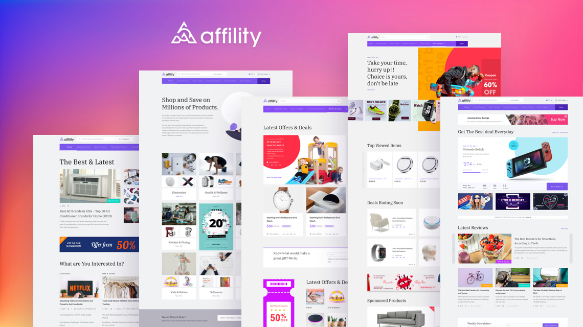 Introducing Affility: A Complete Affiliate Marketing Website Solution on Joomla