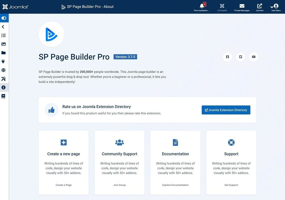 SP Page Builder Pro v3.7.5 Update