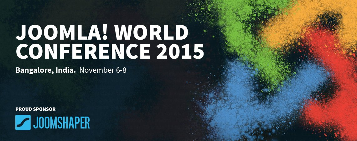 The Joomla! World Conference 2015 sponsored by JoomShaper