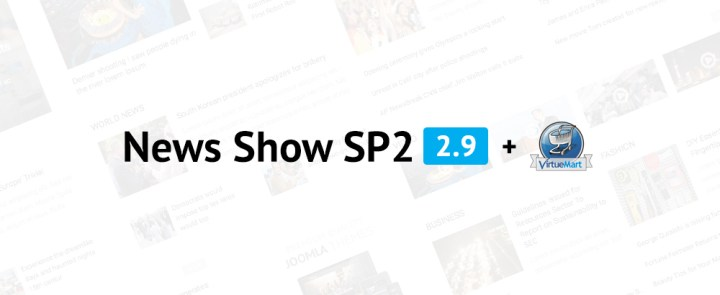 news show sp2 virtuemart3