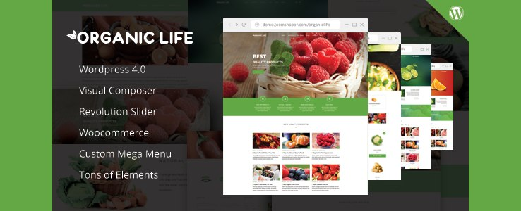 organic-life-wordpress-theme WP