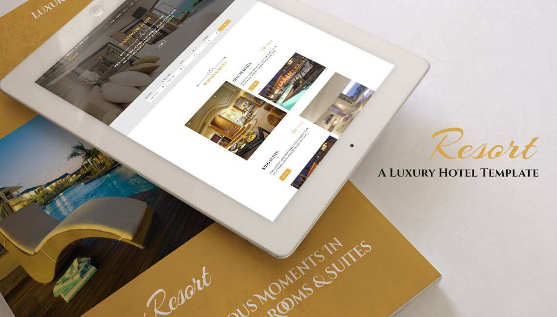 Review: Resort – A perfect template for hotel, motel and rest house