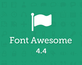 FontAwesome 4.4