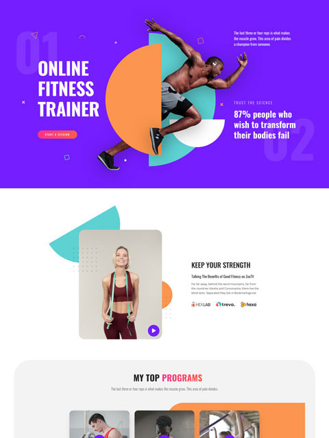 Fitness Trainer Thumbnail