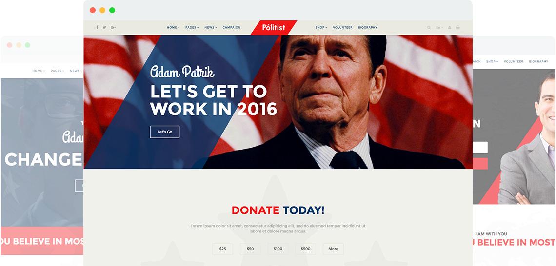 Shaper Politist  for Joomla 3 网站前台响应式模板